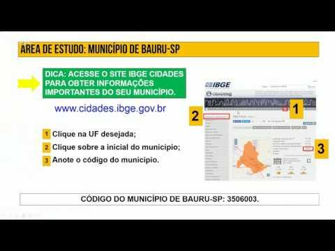 5as Jornadas Brasileiras gvSIG: Utilização do gvSIG para análise das variáveis população