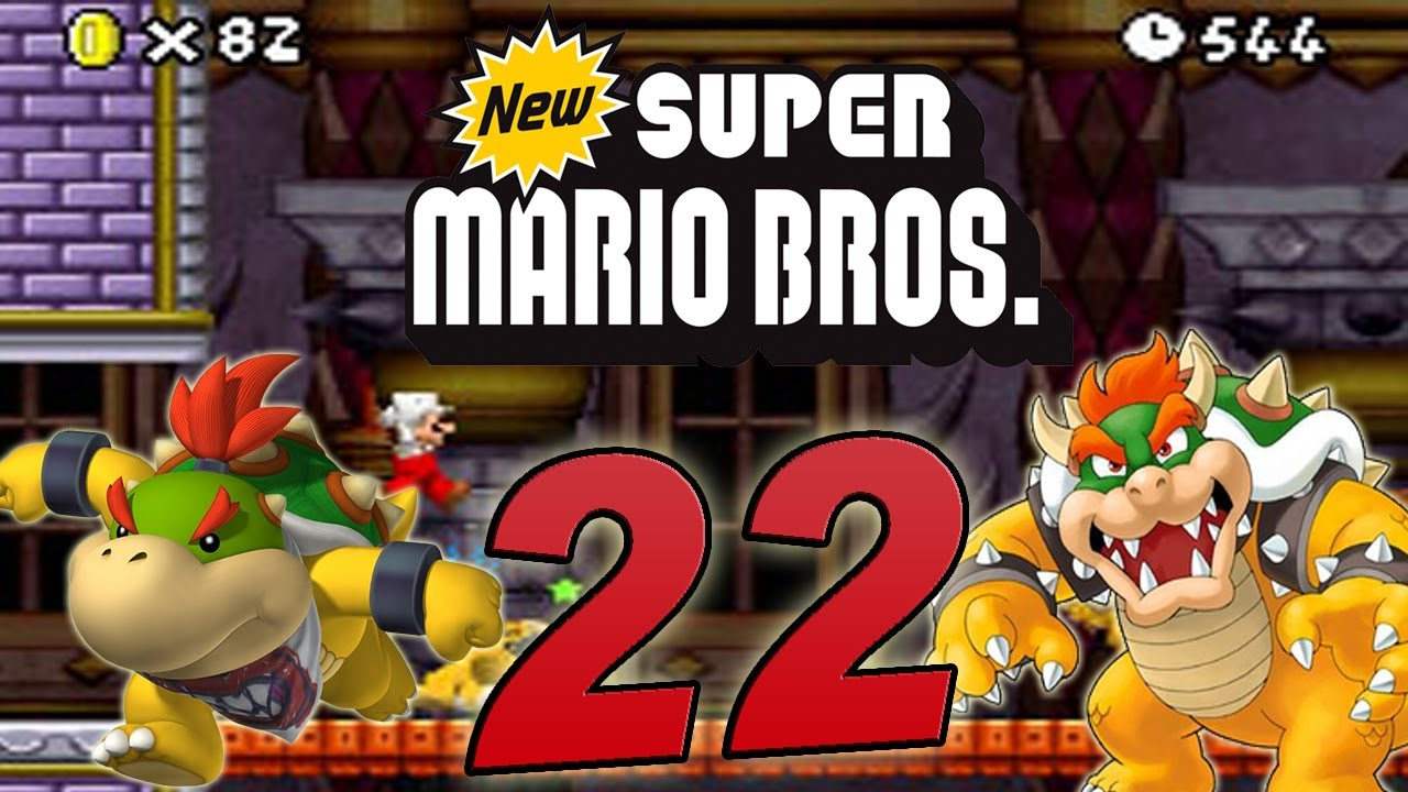 Let's Play New Super Mario Bros  DS Part 22: Final Bowser