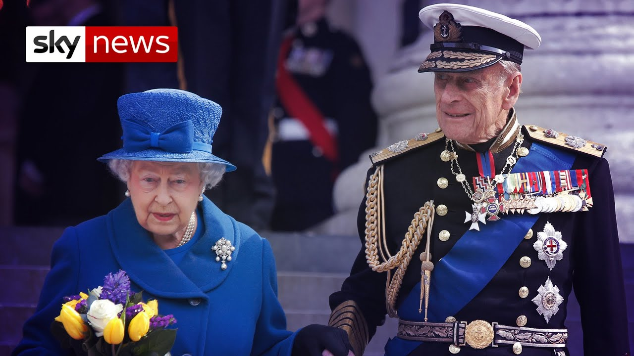 Prince Philip: Royal family in mourning