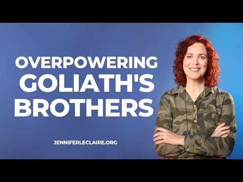Overpowering Goliath's Brothers (Prophetic Prayer & Prophecy)