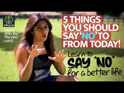 5 Things You Should Say 'NO' To From Today! Personality Development Training