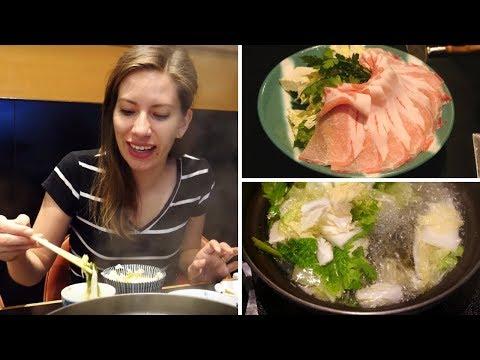 Trying Shabu Shabu (しゃぶしゃぶ) | Japanese Hot Pot in Tokyo, Japan