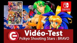 vidéo test Psikyo Shooting Stars Bravo par ConsoleFun