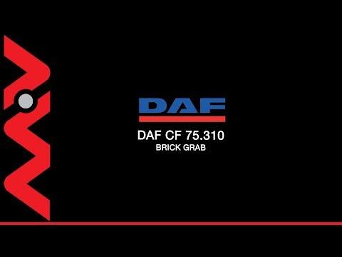YJ07XPZ DAF CF 75.310 26 Tonne Flatbed