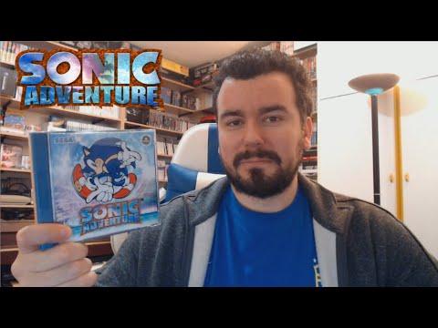 SONIC ADVENTURE (Dreamcast) - La gran aventura de Sonic en 3D