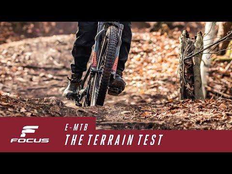E-MTB test 4/4: How does the terrain influence my reach?