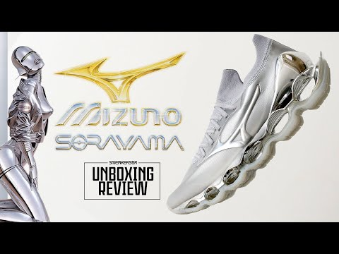 Um Mizuno Assinado Por Hajime Sorayama! | UNBOXING+REVIEW Mizuno Prophecy X Hajime Sorayama