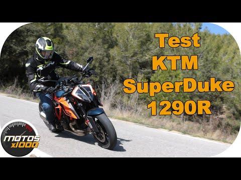 Test KTM SuperDuke 1290 R   Motosx1000