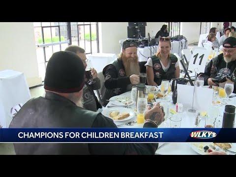 champions for children breakfast