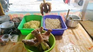 Mie Kocok Abah PU kaki sapinya berlimpah | Subang Indonesian street food