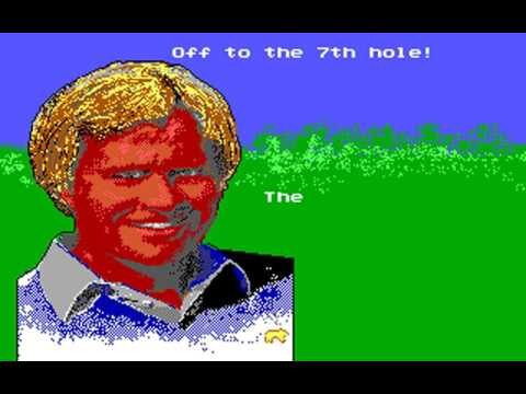 Jack Nicklaus' Greatest 18 Holes of Major Championship Golf (Sculptured Software) (MS-DOS) [1988]
