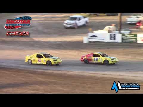 Dacotah Speedway IMCA Sport Compact A-Main (8/13/21) - dirt track racing video image