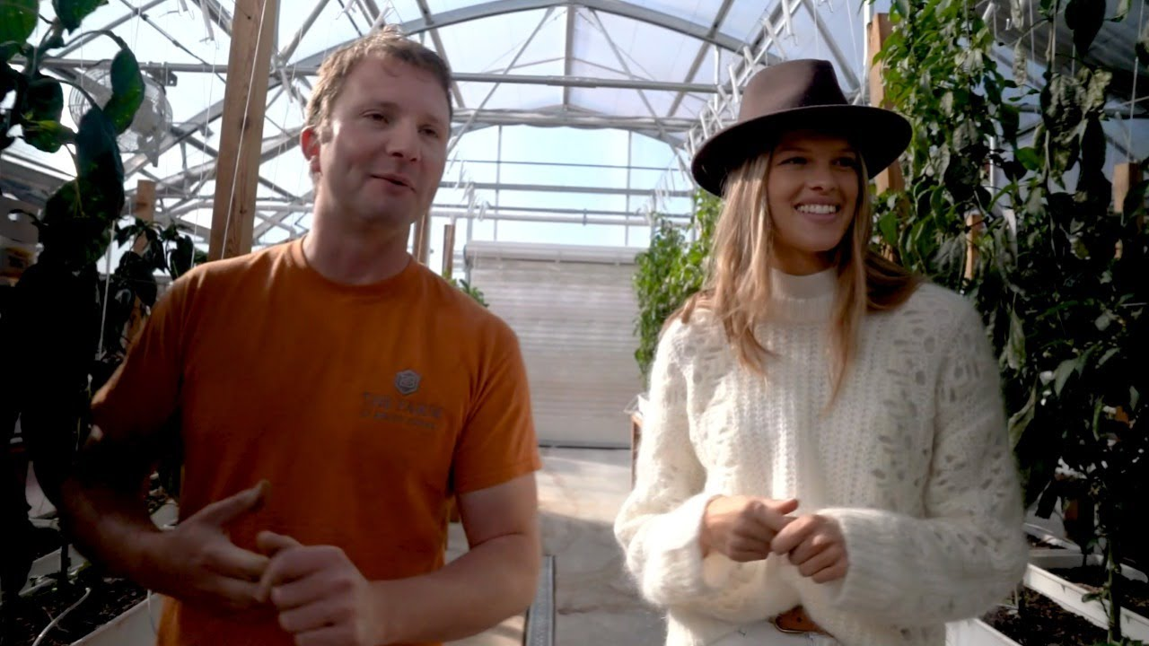 Kim Riekenberg Tours the Greenhouse At Magee Homestead