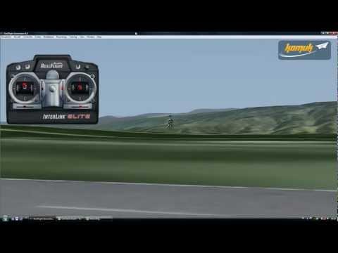 Simulatör Dersleri - RC Helikopter Inverted Flight (Ters Uçuş)