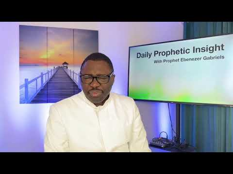 Prophetic Insight - March 7,2021