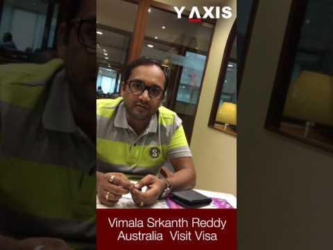 Vimala Srkanth Reddy Australia  Visit visa PC Rozeena