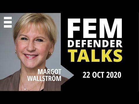 Femdefender Talk med Margot Wallström | Kvinna till Kvinna