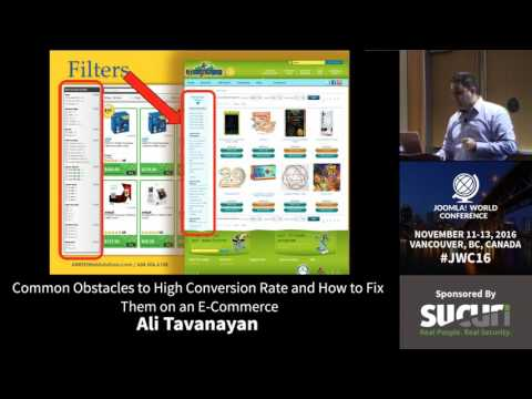 JWC 2016 - Common Obstacles to High Conversion Rate... - Ali Tavanayan