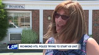 Richmond Heights raising funds for police K-9
