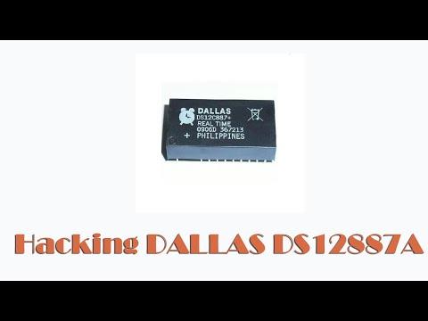 Hacking DALLAS DS12887A, замена батарейки в DALLAS DS12887 photo
