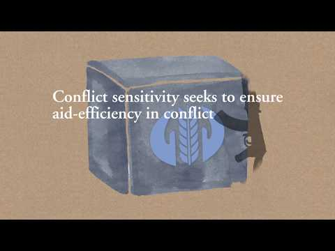 Conflict sensitivity – A 3-minute introduction film by Diakonia