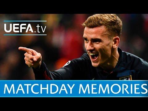 Classic Champions League semi-final moments featuring Ronaldo and Griezmann