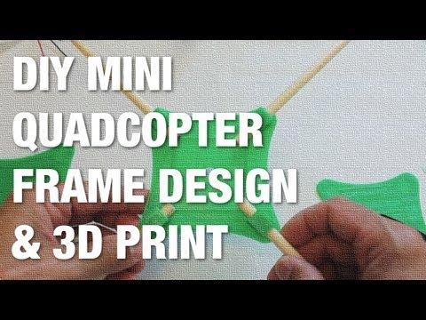 DIY Mini Quad Initial Frame Design and 3D Print w/ MakerBot Replicator 2 - UC_LDtFt-RADAdI8zIW_ecbg