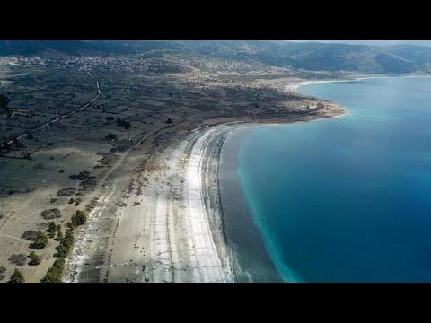 NASA'nın Salda Gölü'ne ilgisi sonrası gölün doğal güzelliğinin yok olma riski daha da arttı…