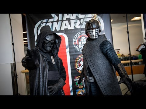 Adam Savage Incognito as the Knights of Ren!