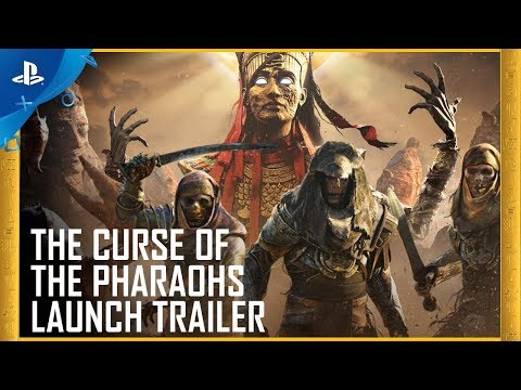 Assassin's Creed Origins - The Curse of the Pharaohs DLC Launch Trailer | PS4