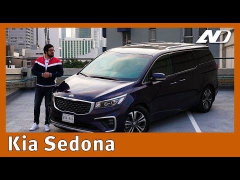 Kia Sedona - No es el auto más sexy, pero si el que las familias necesitan