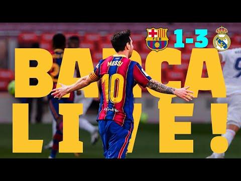 🔥 BARÇA LIVE: EL CLÁSICO 🔥 | BARÇA – REAL MADRID | Warm up & Match Center