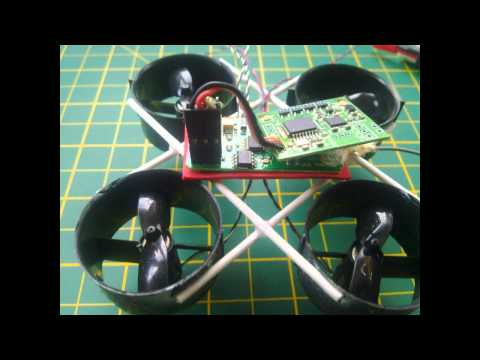 Micro Ducted Fan EDF Quadcopter Build 35 Grams With Lipo - UCj6-UyNSezkYsoK2nJLpbew