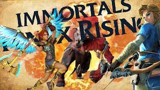 vidéo test Immortals Fenyx Rising par Sevenfold71