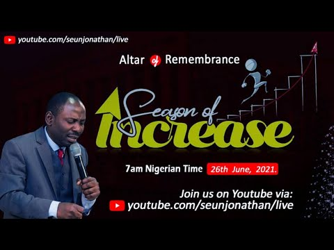 Altar of Remembrance - SEASON OF INCREASE  -- Episode 30