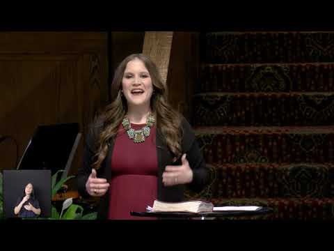 Sermon - 03/29/2020 - Pastor Jenn Crider - Christ Church Nashville