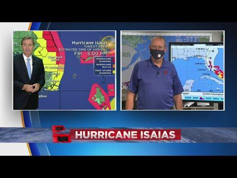 CBS4's Craig Setzer Talks To National Hurricane Center Director Ken Graham About Hurricane Isaias