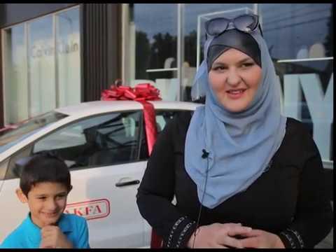 Репортаж с вручения первой машины в акции Исполнение желаний, Махачкала, сентябрь 2018
