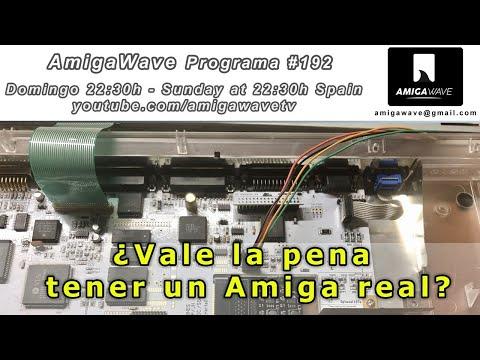 AmigaWave #192 - ¿Merece la pena tener un Amiga real?, a debate.