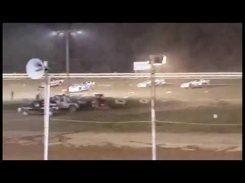 Hummingbird Speedway (9-4-21): Cypress Clock & Gift Shop Pro Stock Feature - dirt track racing video image