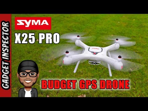 Syma X25 Pro GPS Drone Full Review | Follow Me Orbit and Tap to Fly - UCMFvn0Rcm5H7B2SGnt5biQw