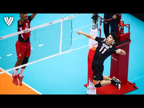 Top Spikes by Yuji Nishida 西田 有志! | Monster of Vertical Jump | Volleyball World Cup 2019