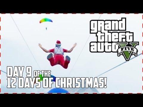 GTA 5 Online - Santa Wingsuit! (Day 9 of 12) (GTA V) - UC2wKfjlioOCLP4xQMOWNcgg