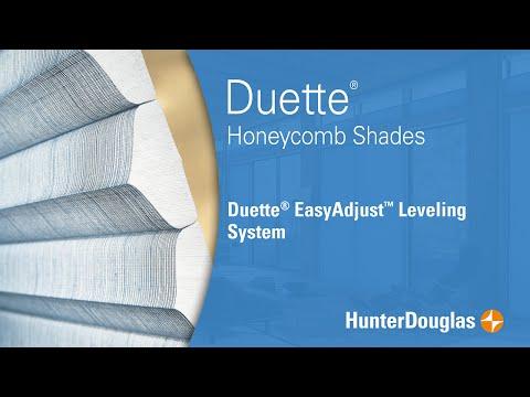 Duette® Honeycomb Shades - EasyAdjust™ Leveling System - Hunter Douglas