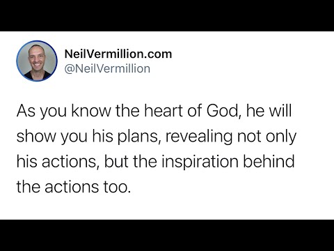 Perfect Union And Harmony - Daily Prophetic Word