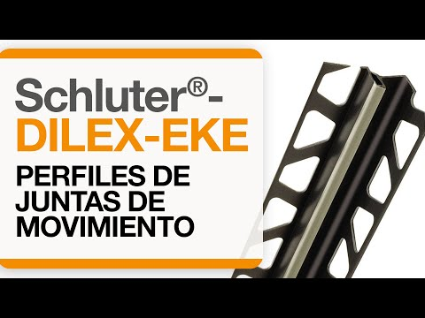 Cómo instalar una junta de movimiento en baldosas: Schluter®-DILEX-EKE