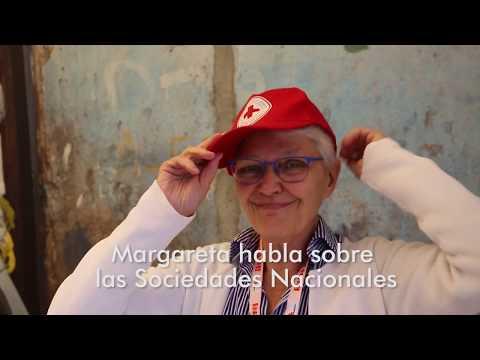 Margareta habla sobre  las Sociedades Nacionales