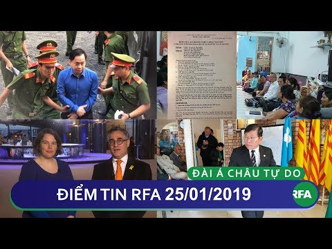 Điểm tin RFA tối 25/01/2019 | Nghị sĩ Châu Âu thông báo hoãn phê chuẩn EVFTA