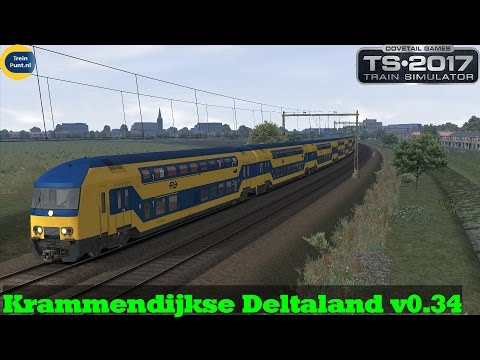 Preview | Krammendijkse Deltaland v0.34 beta | Extra pendel Fc Krammendijk | Train Simulator 2017