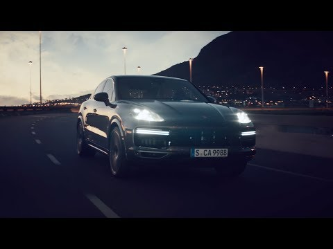 The new Porsche Cayenne Coupé - Shaped by Performance